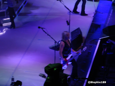 Rick Savage! Def Leppard, 2007 Downstage Thrust Tour.