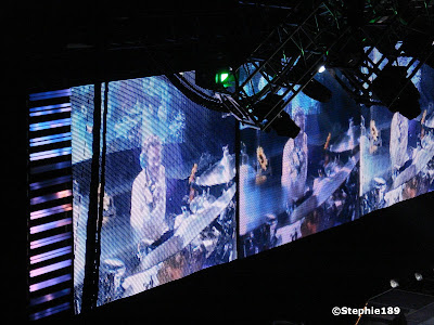 Rick Allen, Thunder God, on the big screen! Downstage Thrust Tour 2007