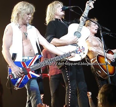 Rick Savage, Vivian Campbell, Joe Elliott & Phil Collen - Def Leppard - 2008
