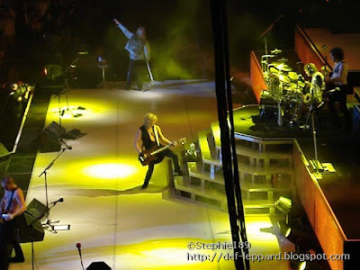Phil Collen, Rick Savage, Joe Elliott, Rick Allen, & Vivian Campbell - Def Leppard - 2008