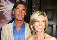Olivia Newton-John and new husband John Easterling