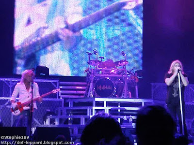 Rick Savage, Rick Allen, & Joe Elliott - Def Leppard - 2008
