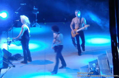 Rick Savage, Vivian Campbell, & Phil Collen - Def Leppard - 2008