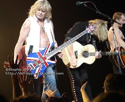 (Vivian Campbell,) Rick Savage, Joe Elliott, and Phil Collen - Def Leppard - 2008