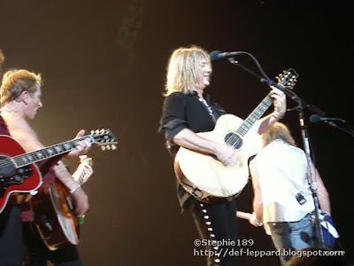 (Viv and) Phil, Joe, and Sav - Def Leppard - 2008