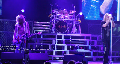 Rick Savage, Rick Allen, and Joe Elliott - Def Leppard - 2008