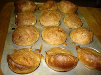 Popovers fresh from the oven
