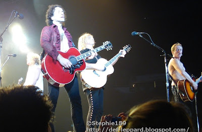 Rick Savage, Vivian Campbell, Joe Elliott, and Phil Collen - Def Leppard - 2008