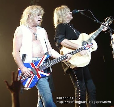 Rick Savage and Joe Elliott - 2008 - Def Leppard