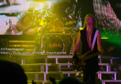 Rick and Sav - Def Leppard - 2008