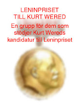 leninpriset till kurt wered