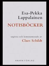Esa-Pekka Lappalainen: Notisböcker