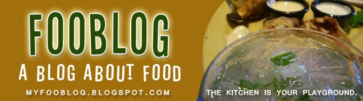 Fooblog: A Blog About Food!