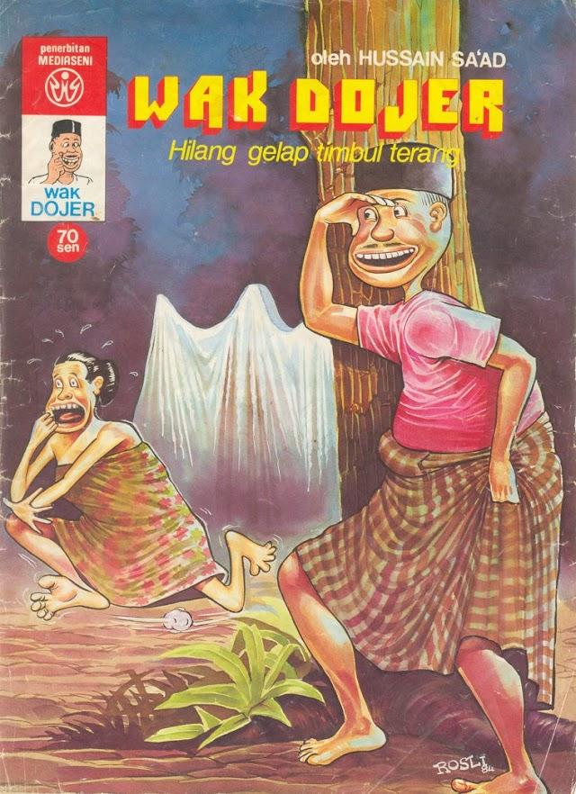 Komik Malaysia Klasik - Wak Dojer
