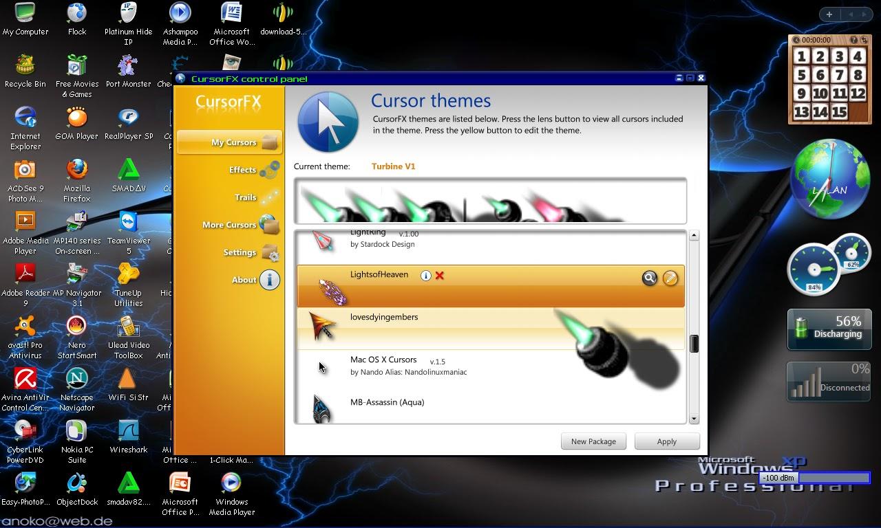... FX adalah program untuk merubah tampilan cursor menjadi lebih menarik