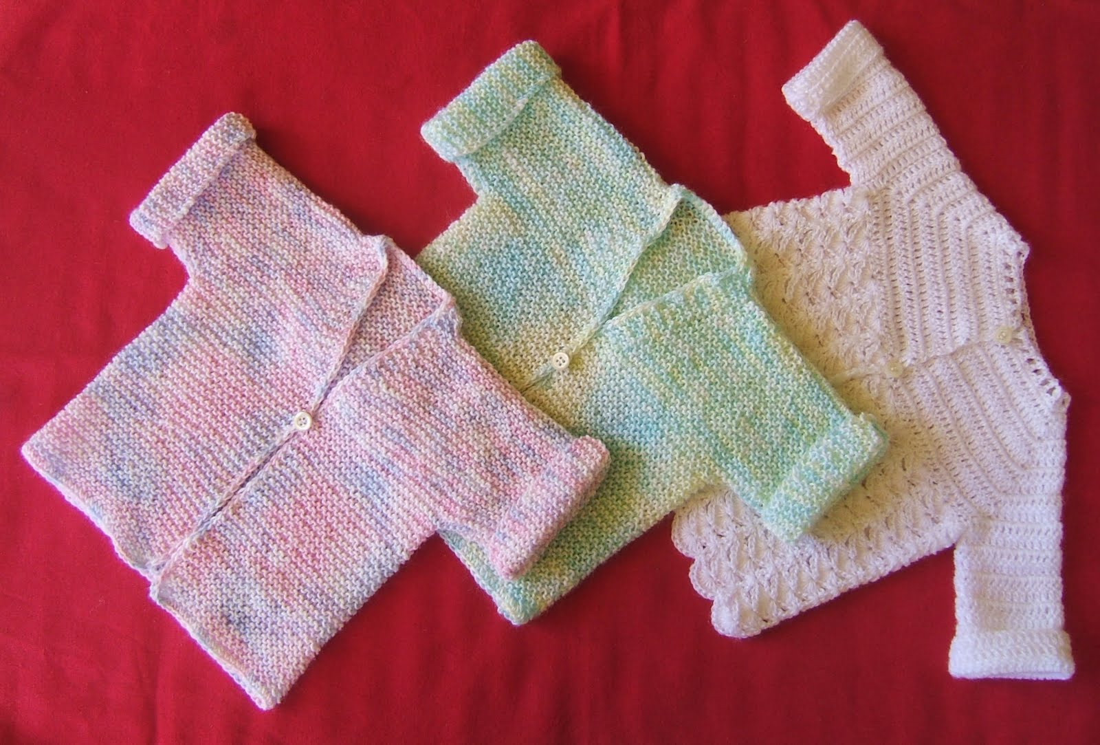 aussie knitting threads: Baby jackets