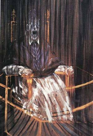 Same Sky, Different Light: April 2010 Francis Bacon Artist Screaming Pope