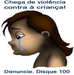 não a violência infantil