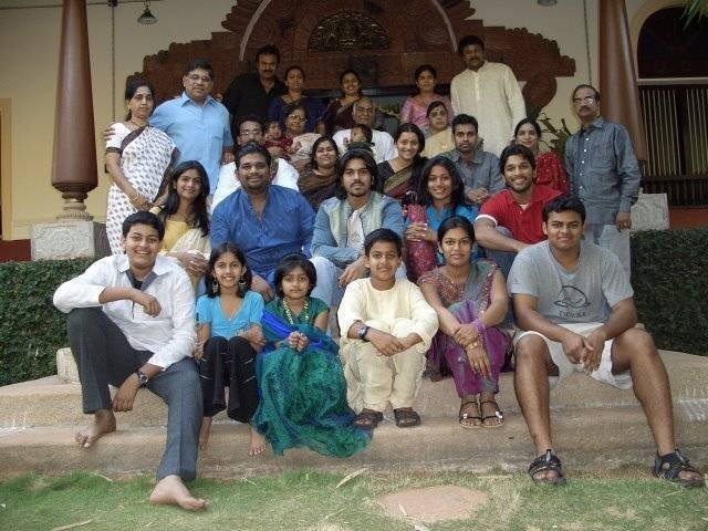ramanaidu family photos