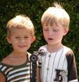 boys at microphone