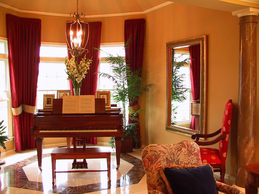 Ladydpiano how to decorate types of pianos for Piano room decor