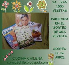 Sorteo de Cocina Chilena