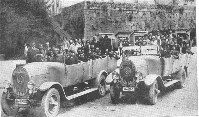 EL ANTIGUO TRANSPORTE A COVADONGA