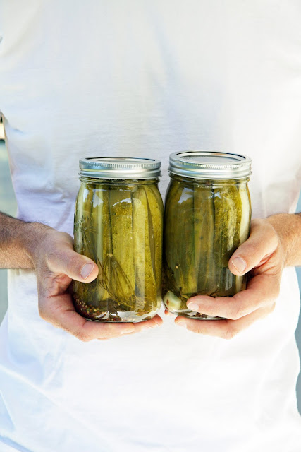... pickling cucumbers i now have two full crocks of refrigerator pickles