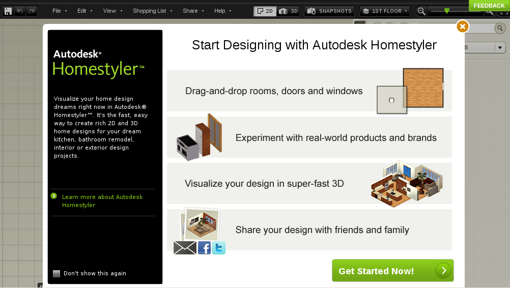 StayGeo: Now design your dream home online!!
