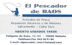 EL PESCADOR DE RAOS (MALIAÑO-SANTANDER)