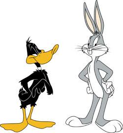 Dibujos animados - Página 2 Bugs_Bunny_y_Pato_Lucas_4
