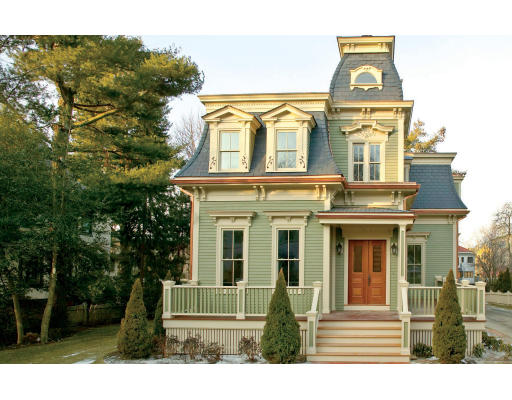 An urban cottage a little local real estate for Mansard style homes