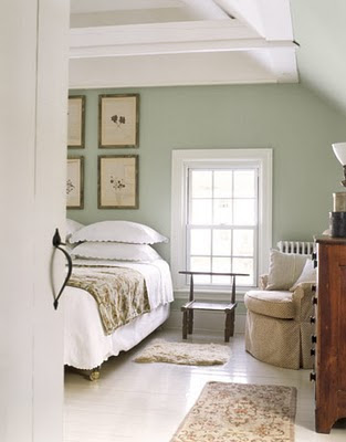 An Urban Cottage: Painted Floors
