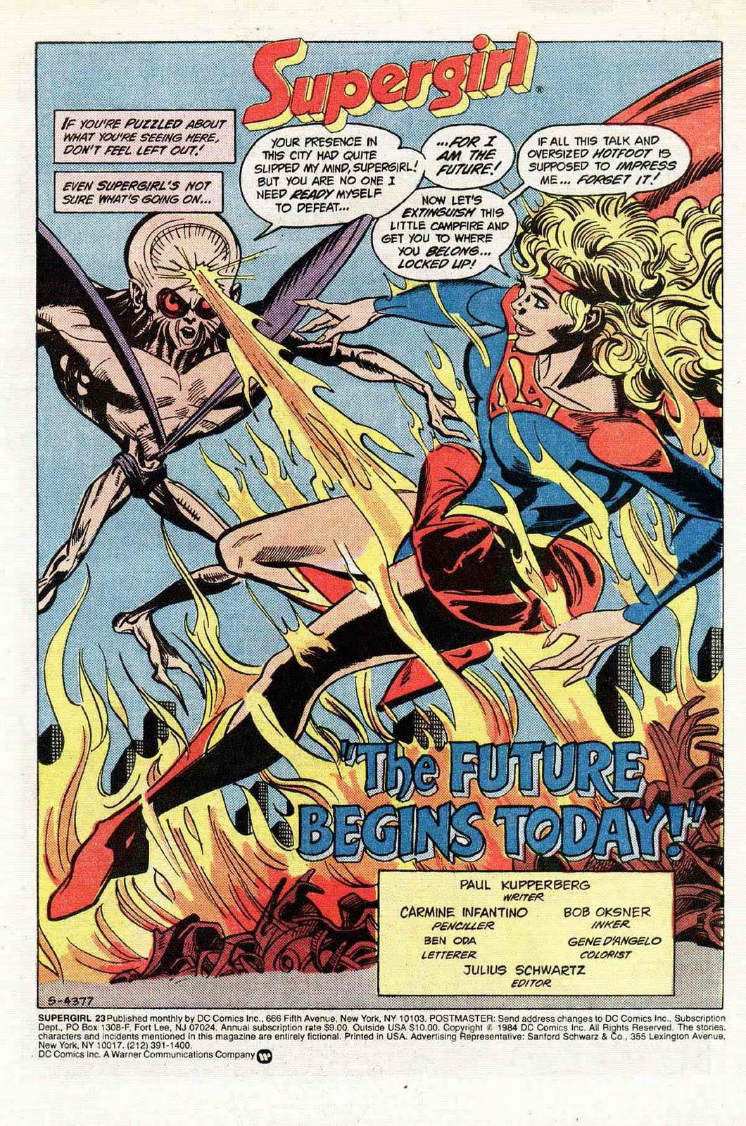 supergirl  the maiden of might  supergirl vol 2  23   u0026quot the