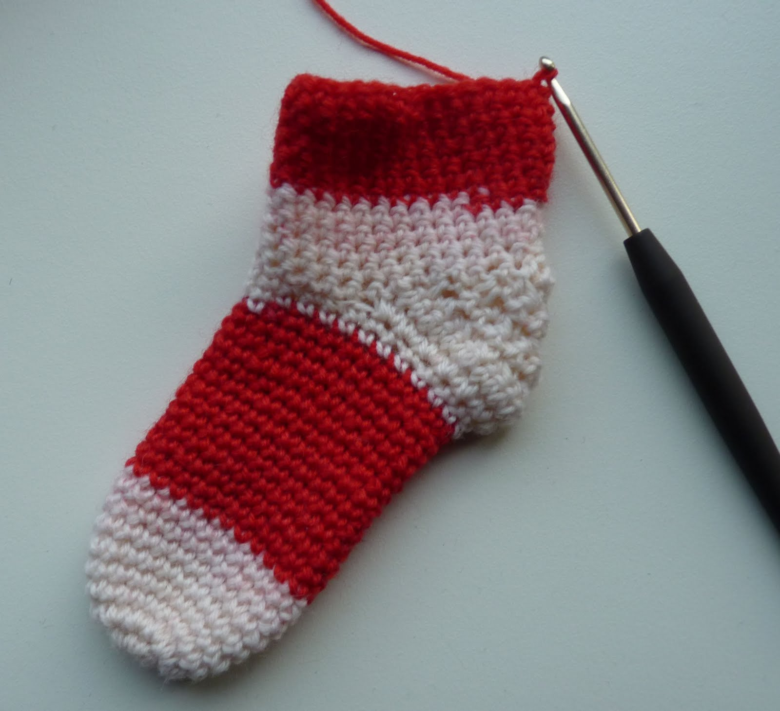 Red+sock
