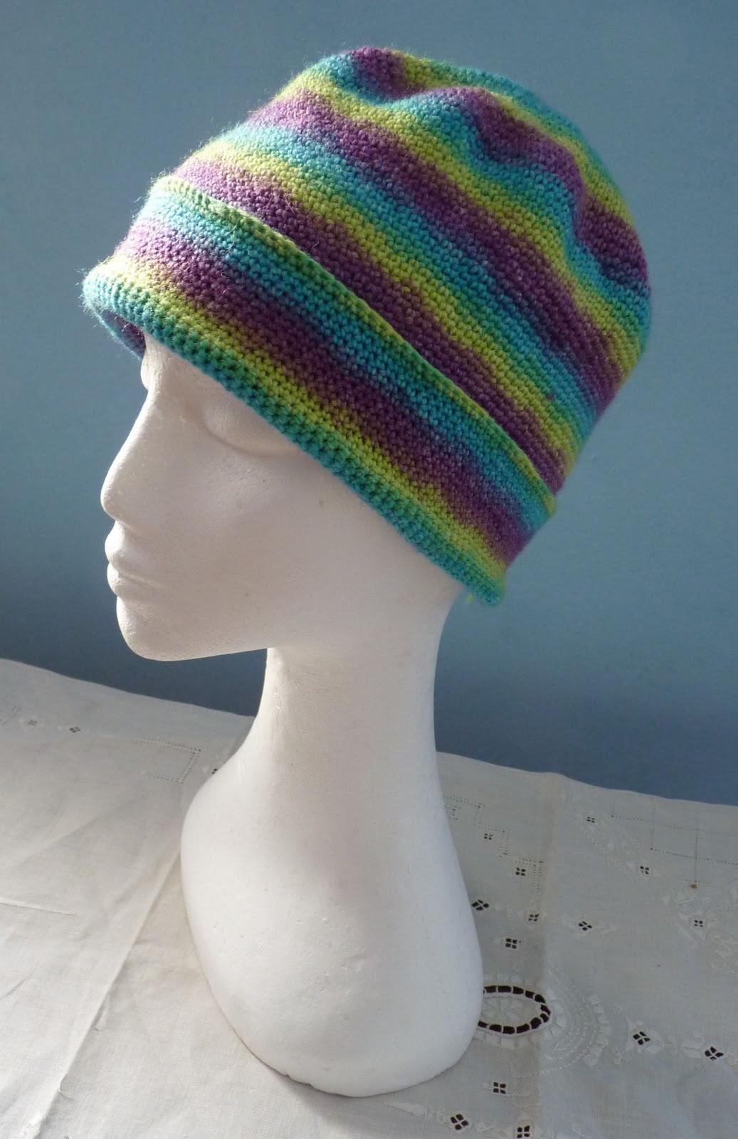Crochet Patterns Using Sock Yarn : ... of the Gingerbread Lady: PATTERN: SiSoYa Hat - Simple Sock Yarn Hat