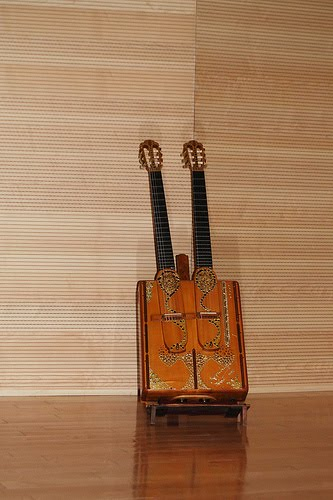 KERTSOPOULOS DOUBLE NECK PEDAL GUITAR