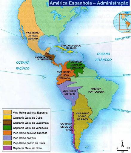 Resultado de imagem para Mapa da conquista da América - Cortés e Pizarro