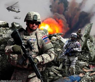 Multinational Force Massed On Jordanian-Syria Border Exxon_dees