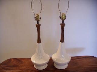 mid century modern danish lamps