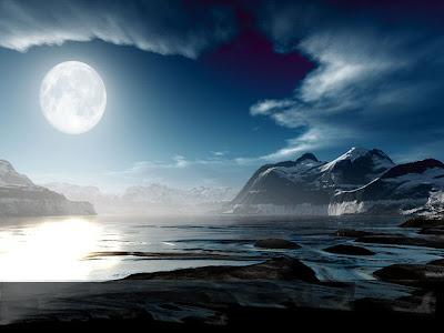 Luna diminuente - Crónicas lunares BlueMoon