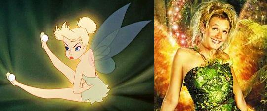 julia roberts as tinkerbell. by Julia Roberts (who was