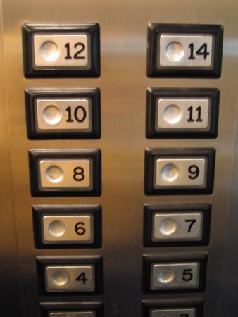 Great Have You Ever Noticed That Some Elevators Are Missing A Button For The 13th  Floor? This Is No Accident; The Otis Elevators Company Has Reported That  About ...