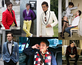 Chuck Bass Collage Tumblr The Style Blogg...