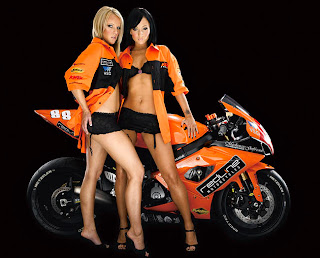 hot chicks on bikesclass=hotbabes