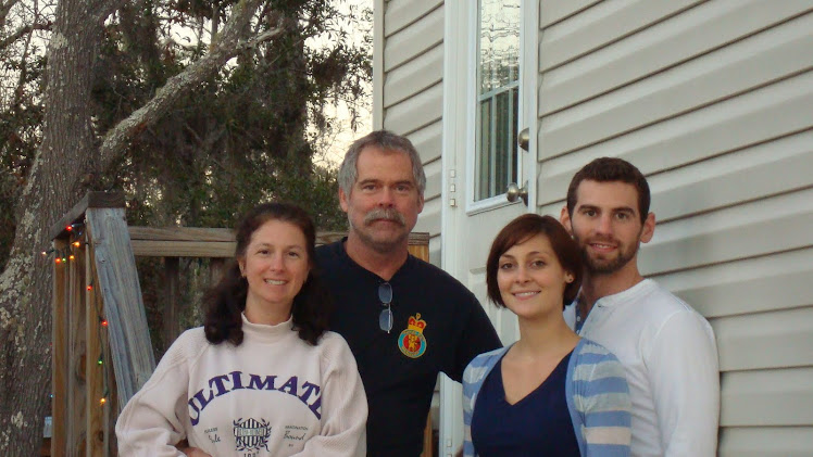 Me with my honey, Mark, and our oldest son Greg and his girlfriend Daniel