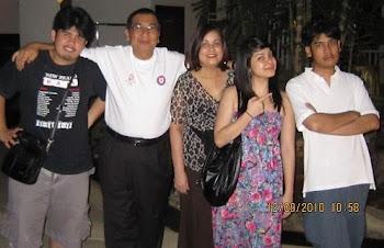 Family Anak Malaysia in 2010 taken in KL
