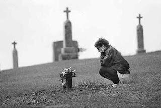 duelo cementerio