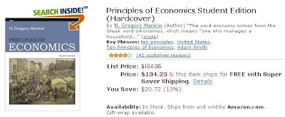 Mankiw Principles of Economics 4th ed - Amazon.com (US)
