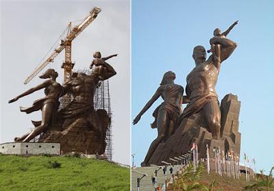 Dakar's African Renaissance Monument